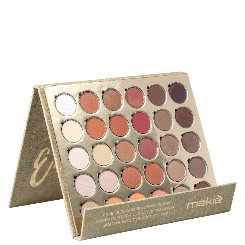 Makiê Emotion Nude - Paleta de Sombra 300g