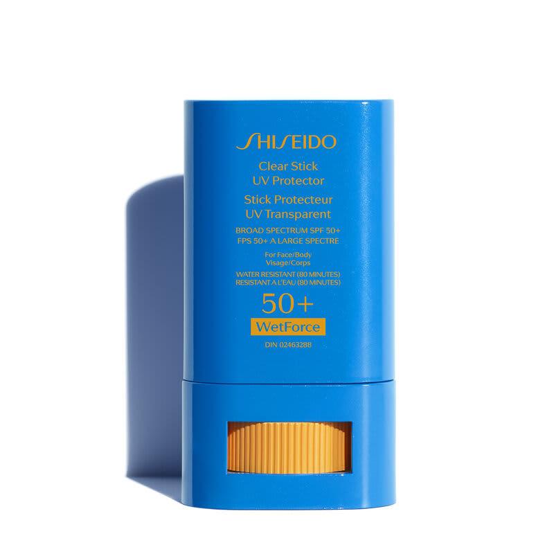 Shiseido Clear Stick UV Protector SPF50+ – Protetor Solar em Bastão 15ml