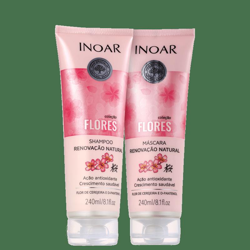 Kit Inoar Coleção Flores Flor de Cerejeira Duo (2 Produtos)