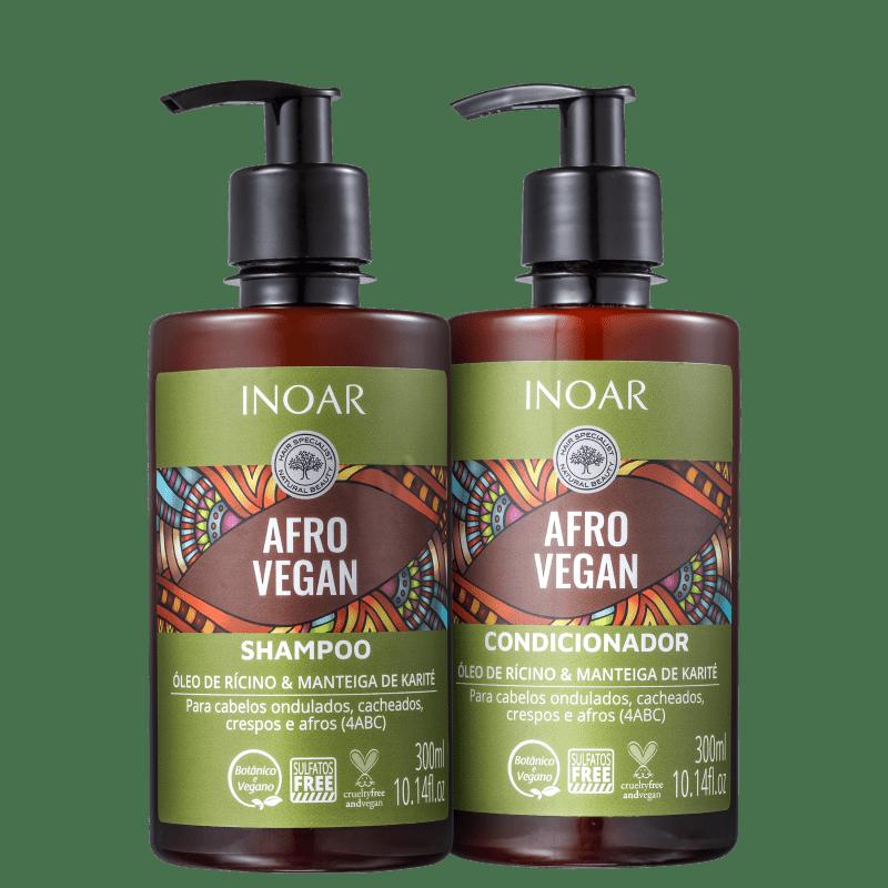 Kit Inoar Afro Vegan Duo (2 Produtos)
