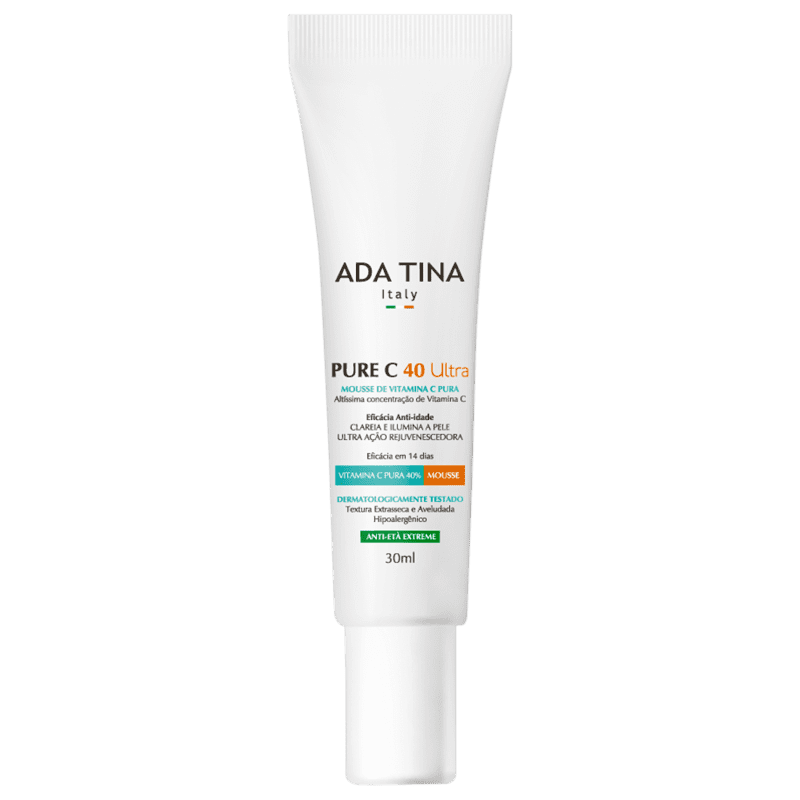 Ada Tina Pure C 40 Ultra - Mousse Anti-Idade 30ml