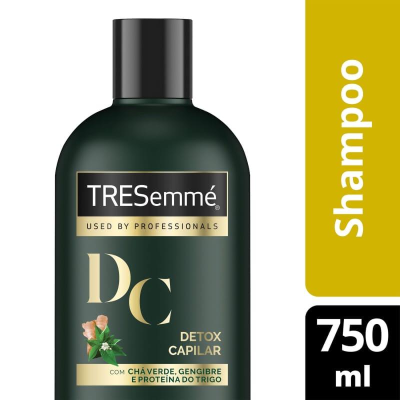 Shampoo TRESemmé Detox Capilar 750ml