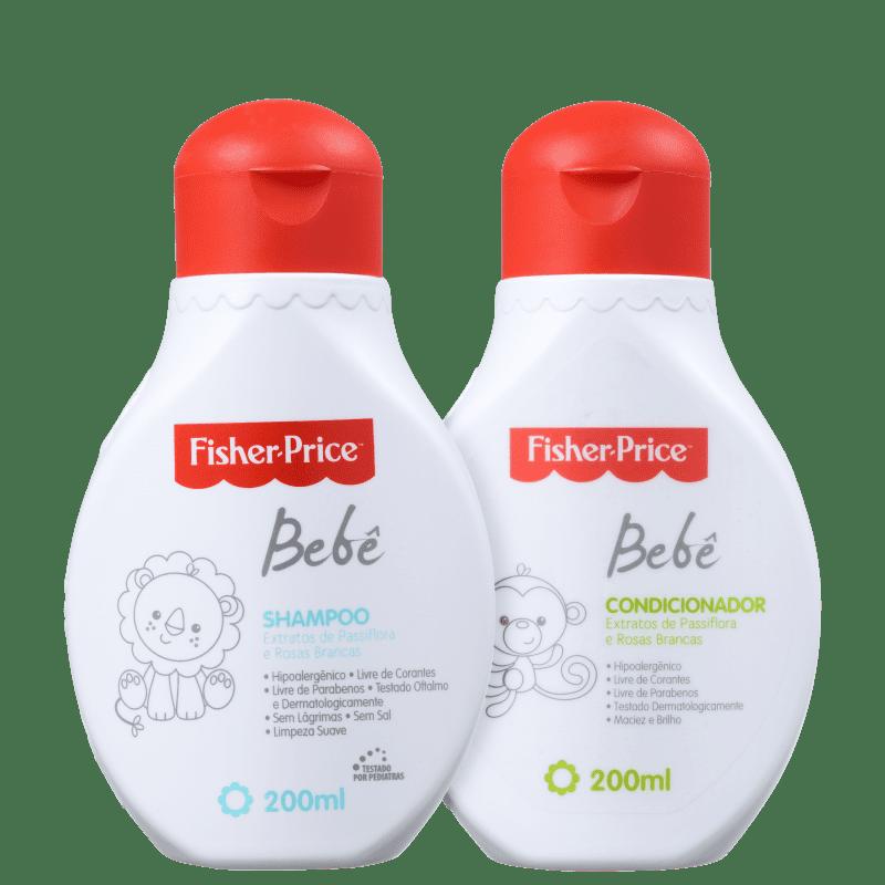Kit Fisher-Price Bebê Cabelos (2 Produtos)