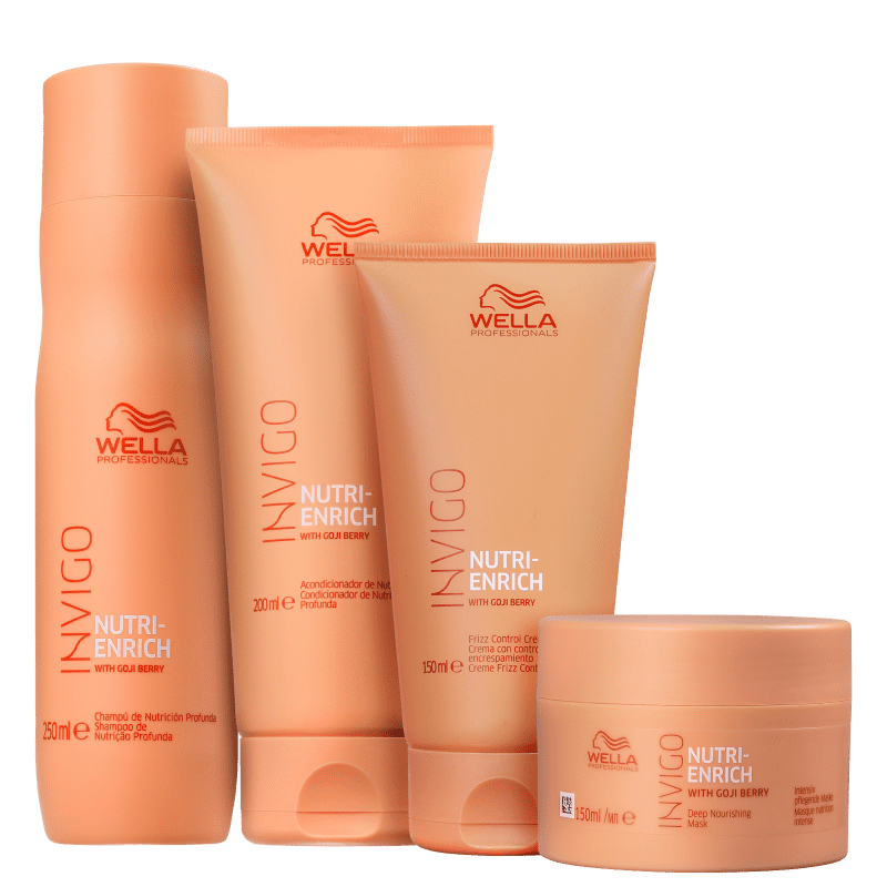 Kit Wella Professionals Invigo Nutri-Enrich Full (4 Produtos)