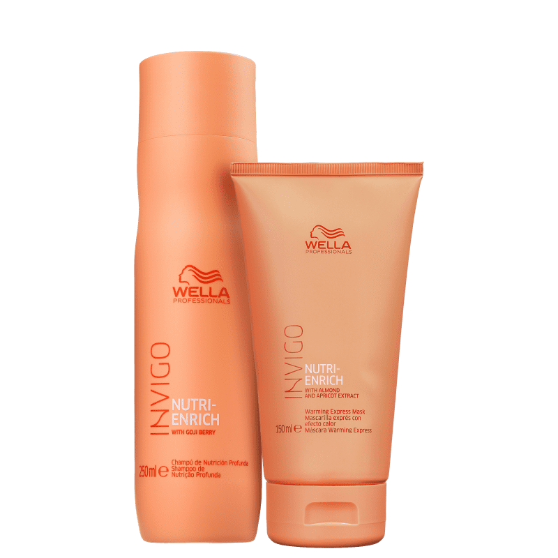 Kit Wella Professionals Invigo Nutri-Enrich Express Duo (2 Produtos)