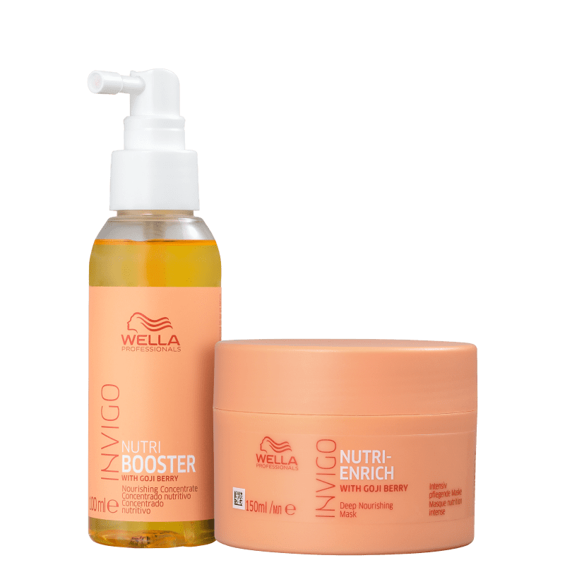 Kit Wella Professionals Invigo Nutri-Enrich Booster Duo (2 Produtos)