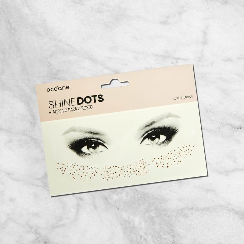 Shine Dots Rose - Adesivos para o rosto SD1