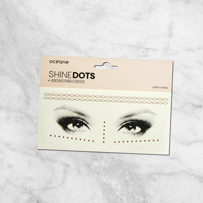 Shine Dots Rose - Adesivos para o rosto SD5