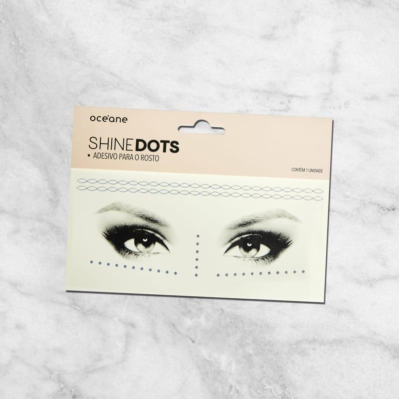 Shine Dots Holográfico - Adesivos para o rosto SD5