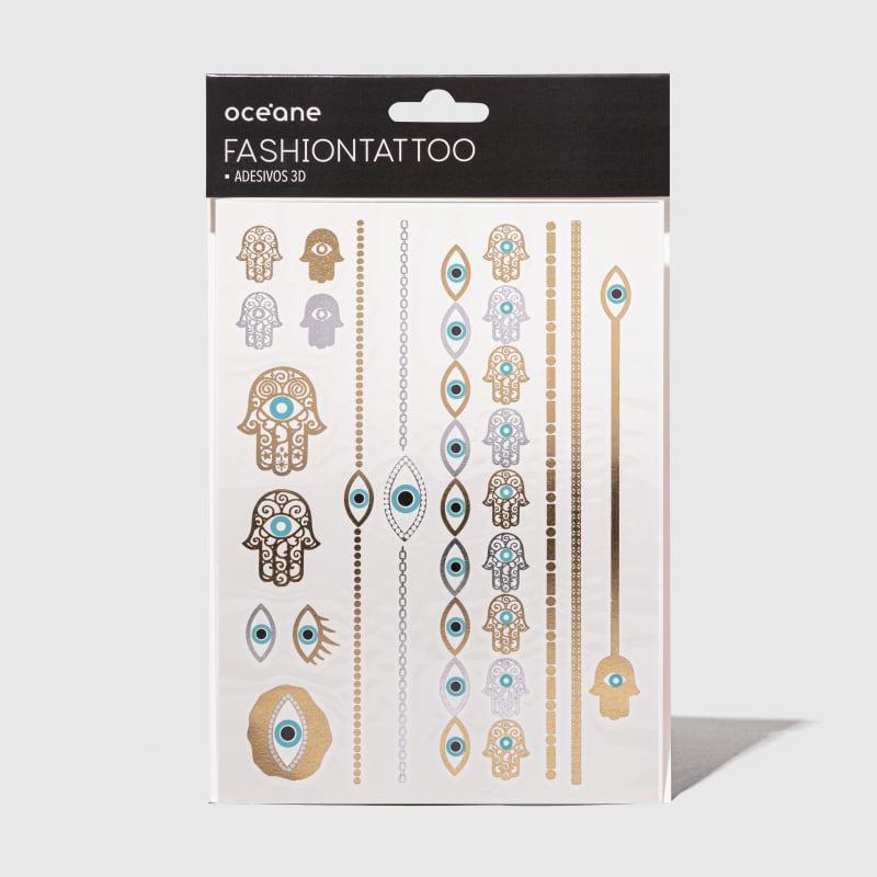 Fashion Tattoo - Tatuagem temporária FT7