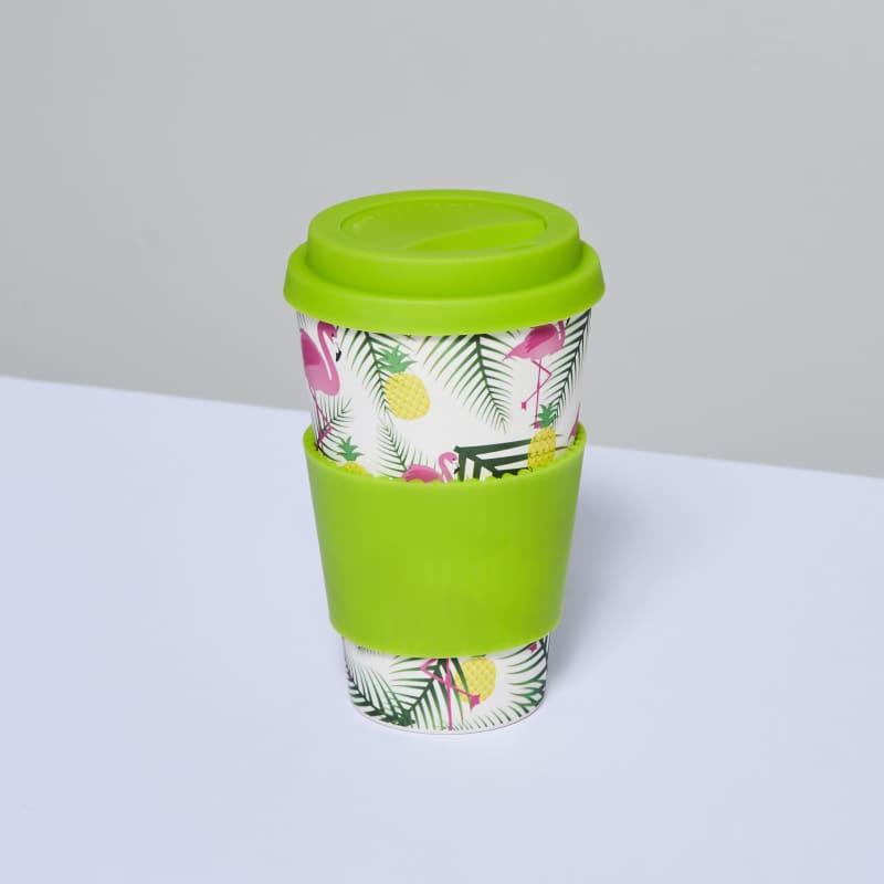 Bamboo Cup Eco - Flamingos