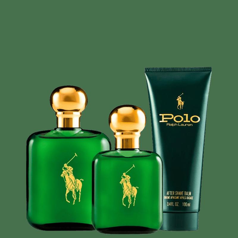 Conjunto Polo Ralph Lauren Masculino - Eau de Toilette 118ml + Eau de Toilette 59ml + Loção Pós-Barba 100ml