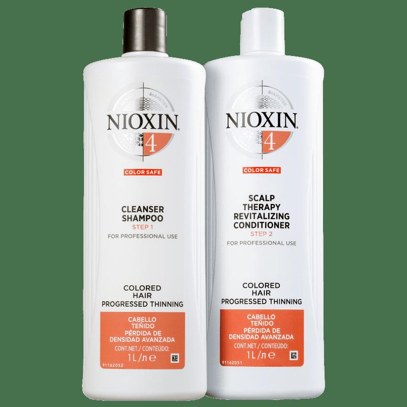 Kit Nioxin System 4 Salon Duo (2 Produtos)