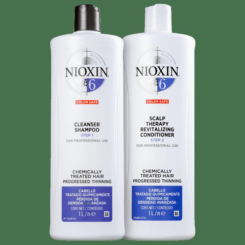 Kit Nioxin System 6 Salon Duo (2 Produtos)