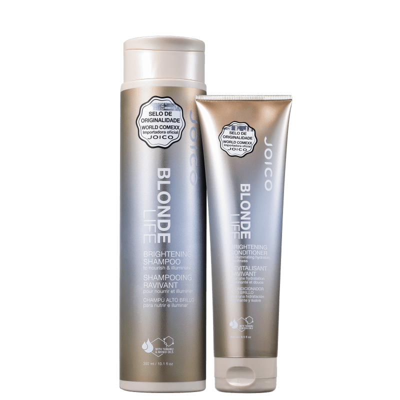 Kit Joico Blonde Life Brightening Duo (2 Produtos)