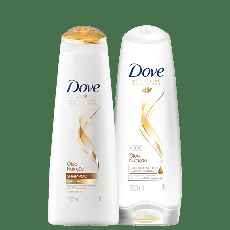 Kit Dove Óleo Nutrição Home Care (2 Produtos)