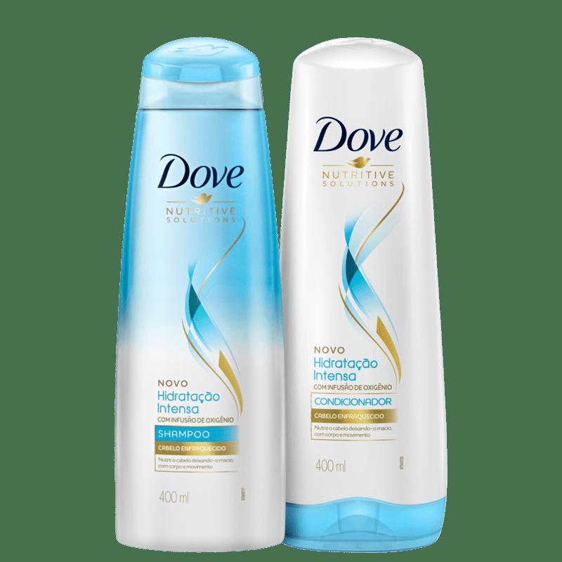 Kit Dove Hidratação Intensa com Infusão de Oxigênio Duo (2 Produtos)