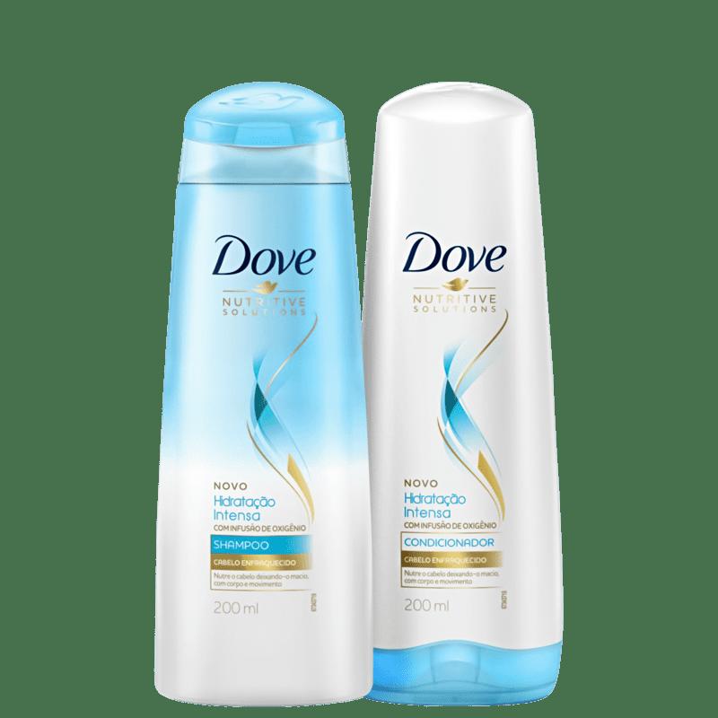 Kit Dove Hidratação Intensa com Infusão de Oxigênio Home Care (2 Produtos)