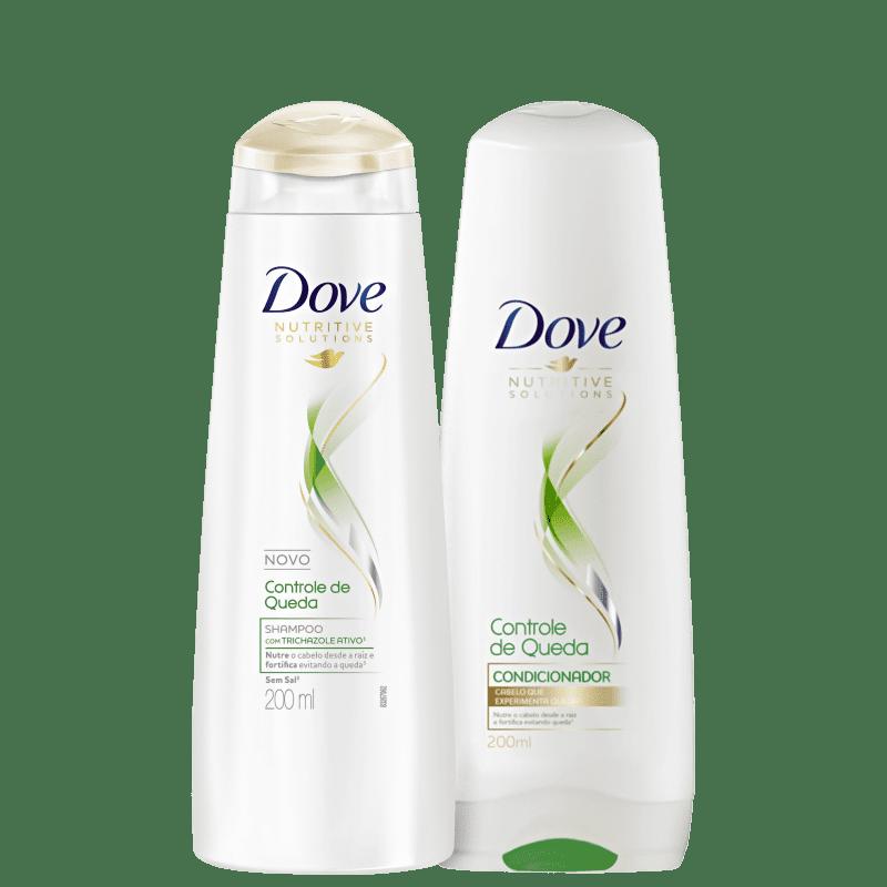 Kit Dove Controle de Queda Home Care (2 Produtos)