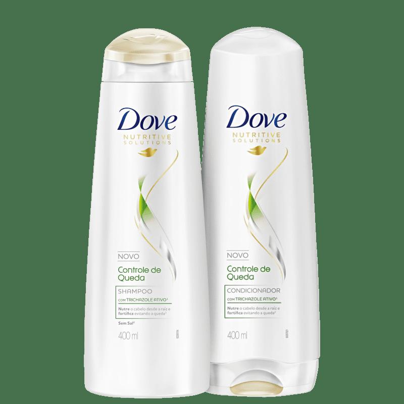 Kit Dove Controle de Queda Duo (2 Produtos)