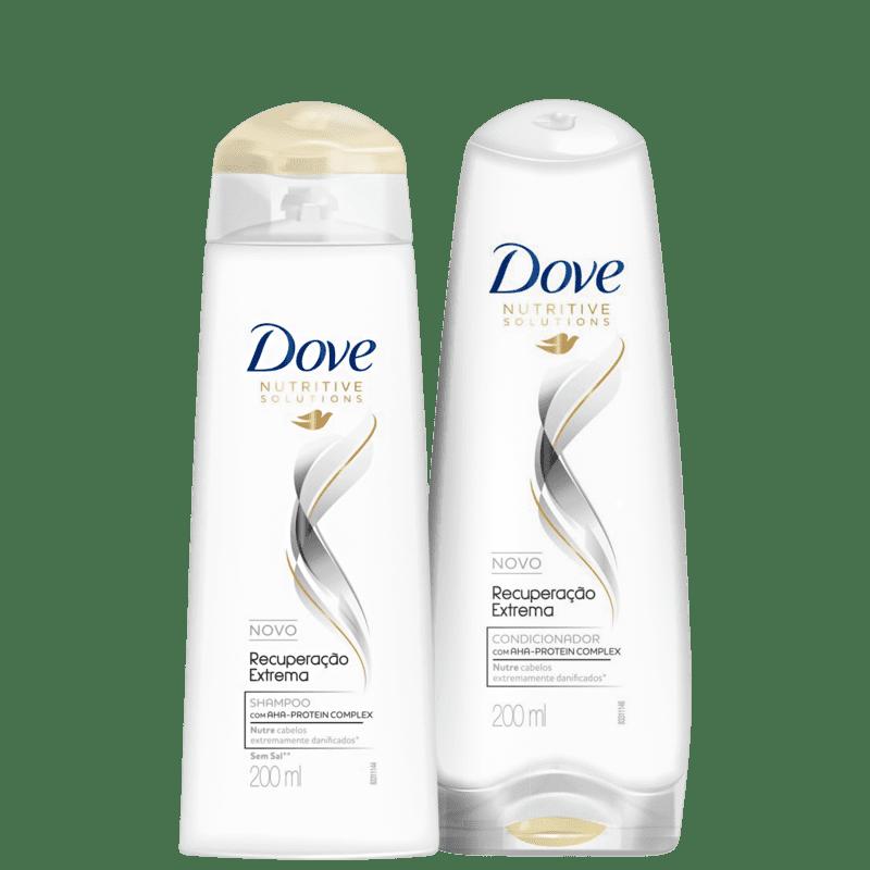 Kit Dove Recuperação Extrema Home Care (2 Produtos)