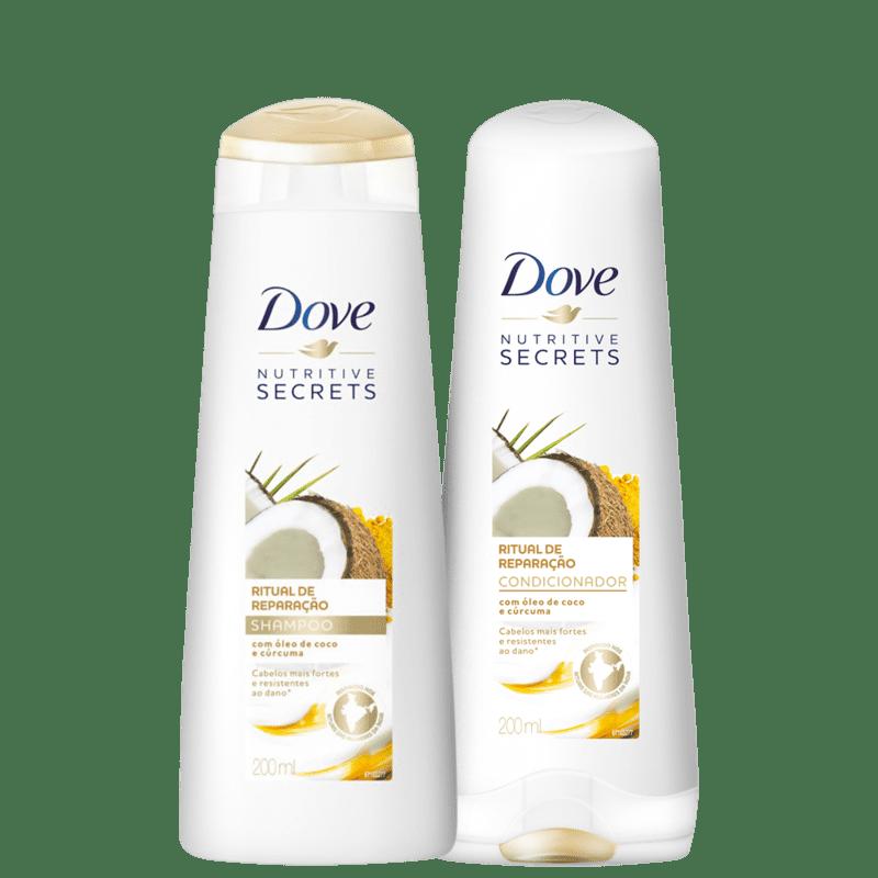 Kit Dove Ritual de Reparação Home Care (2 Produtos)