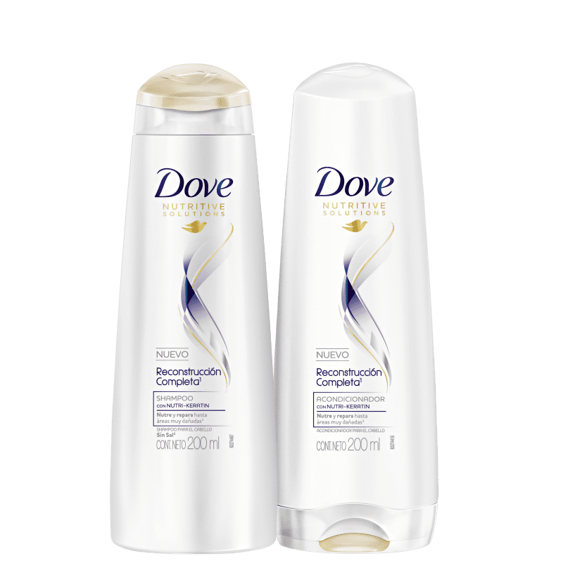 Kit Dove Reconstrução Completa Home Care (2 Produtos)