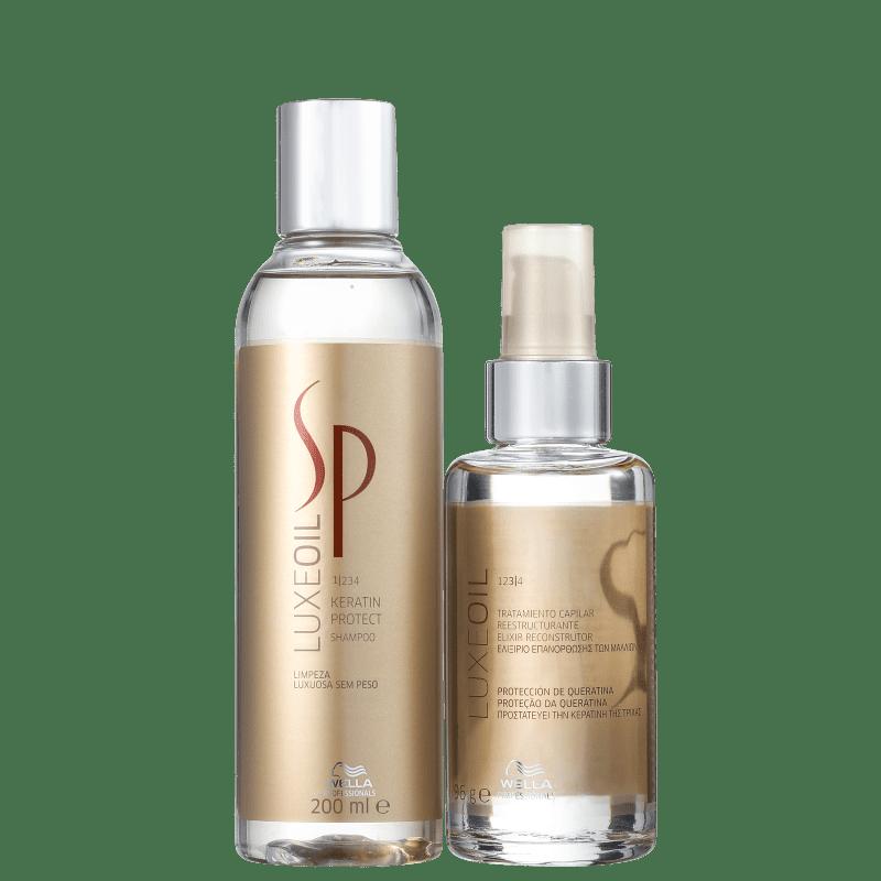 Kit SP System Professional Keratin Luxe Oil Duo (2 produtos)