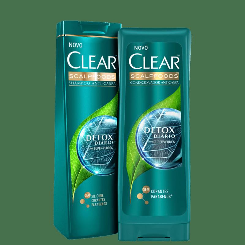 Kit Clear Detox Diário Duo (2 Produtos)