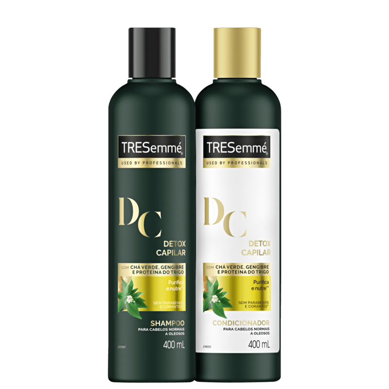 Kit TRESemmé Detox Capilar Duo (2 Produtos)