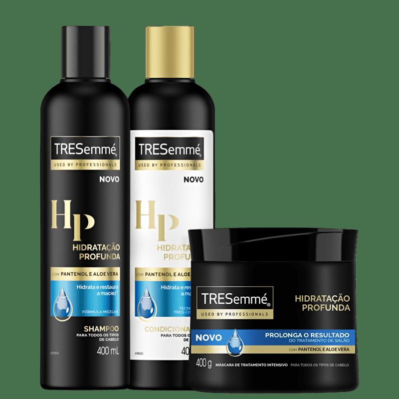 Kit TRESemmé Hidratação Profunda Trio (3 Produtos)