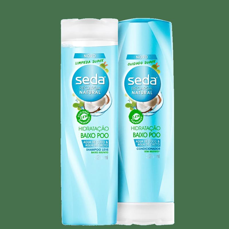 Kit Seda Hidratação Baixo Poo Duo (2 Produtos)