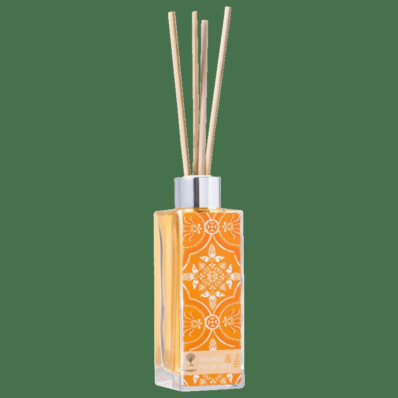 Orgânica Pêssego e Flor de Lótus - Difusor de Ambiente 150ml