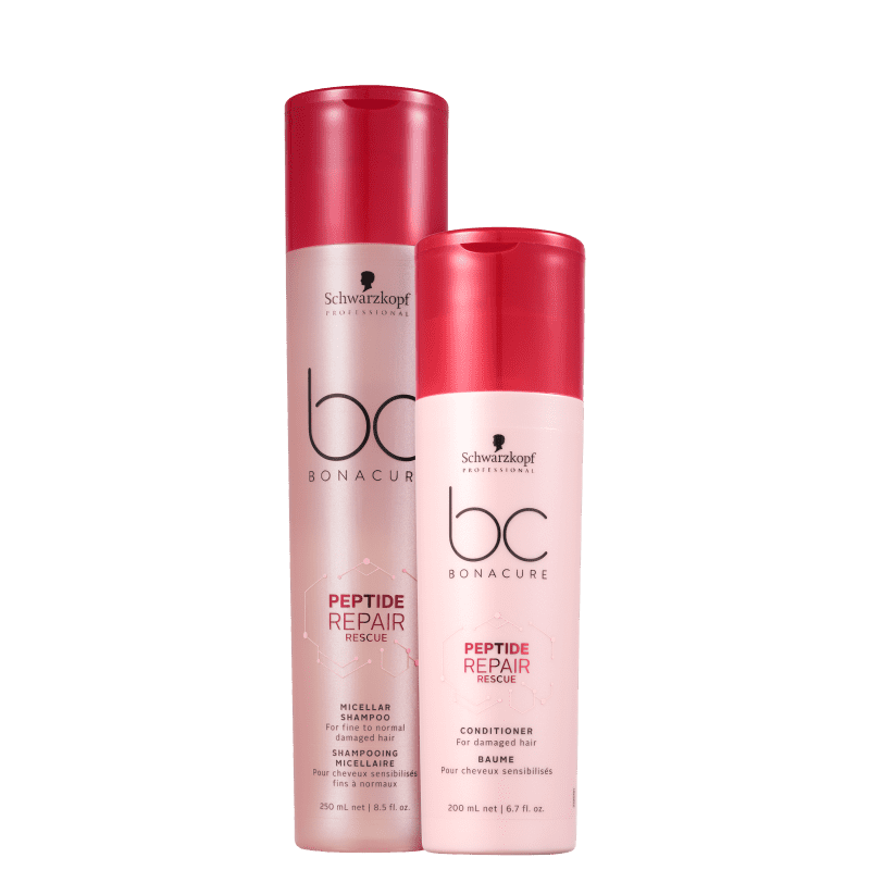 Kit Schwarzkopf Professional BC Bonacure Peptide Repair Rescue Duo (2 Produtos)