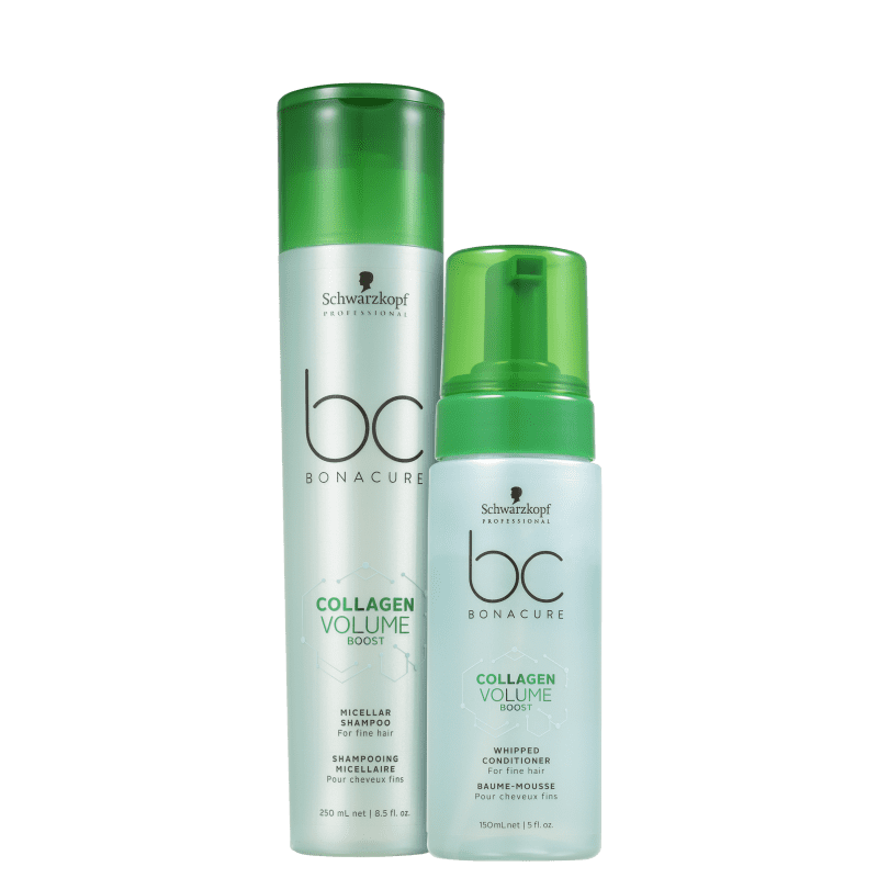 Kit Schwarzkopf Professional BC Bonacure Collagen Volume Boost Duo (2 Produtos)