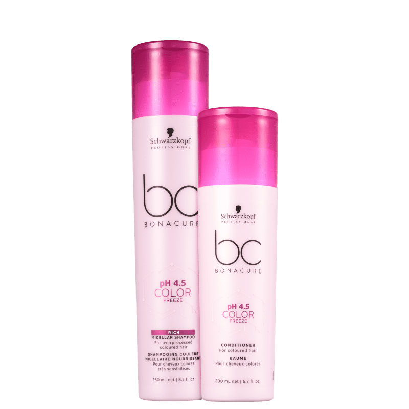Kit Schwarzkopf Professional BC Bonacure pH 4.5 Color Freeze Home Care Duo (2 Produtos)