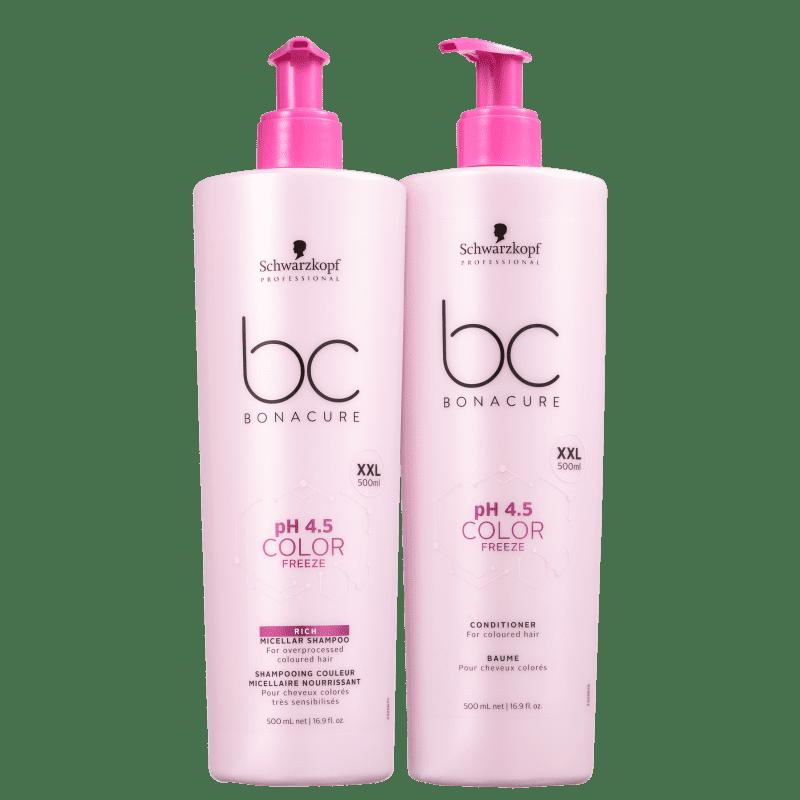 Kit Schwarzkopf Professional BC Bonacure pH 4.5 Color Freeze Duo (2 Produtos)