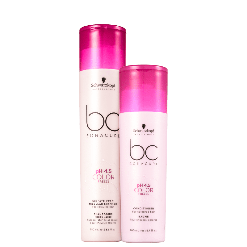 Kit Schwarzkopf Professional BC Bonacure pH 4.5 Color Freeze Sulfate-Free Home Care Duo (2 Produtos)