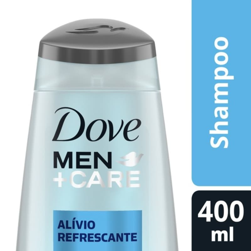 Dove Men+Care Alívio Refrescante - Shampoo 400ml