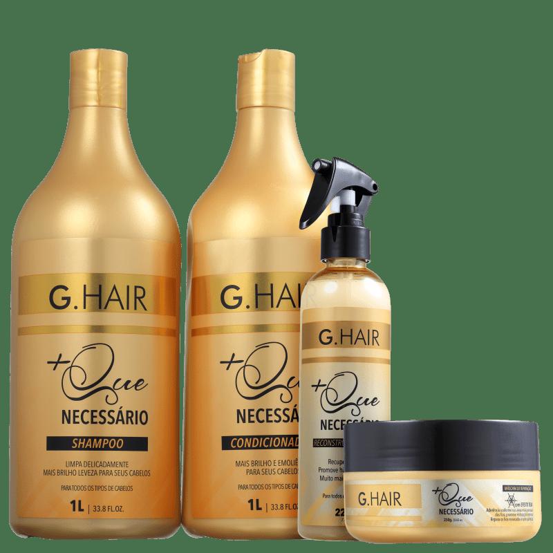 Kit G.Hair +Que Necessário (4 Produtos)