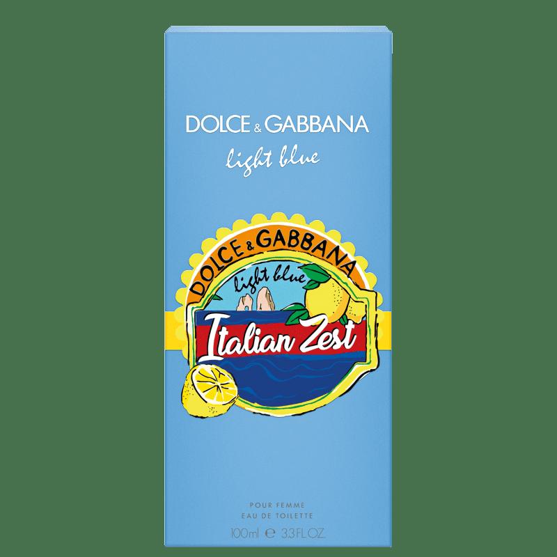 fff3090b14 Light Blue Italian Zest Dolce & Gabbana Eau de Toilette - Perfume Feminino  100ml