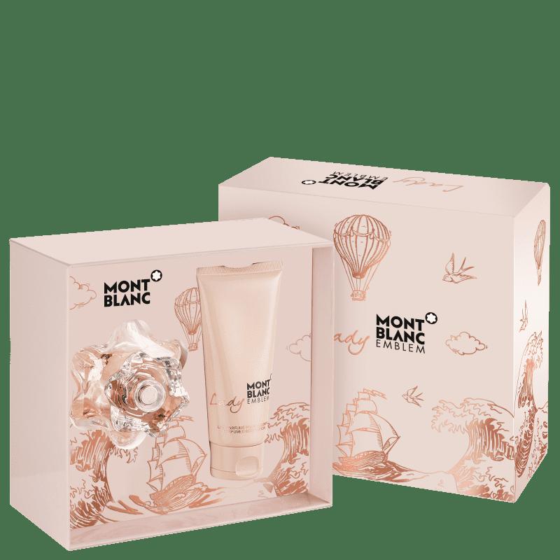 Conjunto Lady Emblem Montblanc Feminino - Eau de Parfum 50ml + Loção Hidratante Corporal 100ml