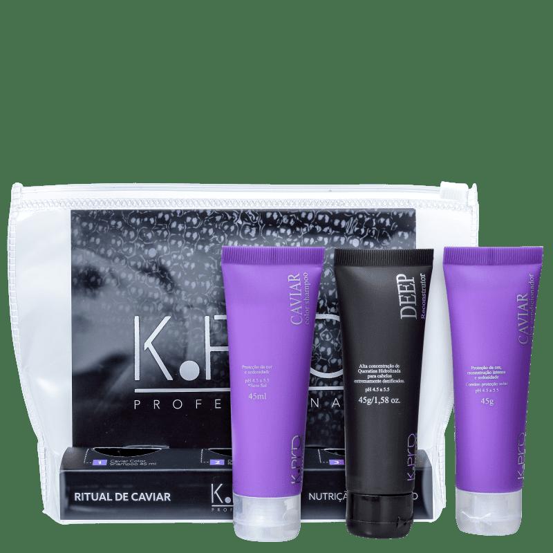 Kit K.Pro Ritual de Caviar (3 Produtos)