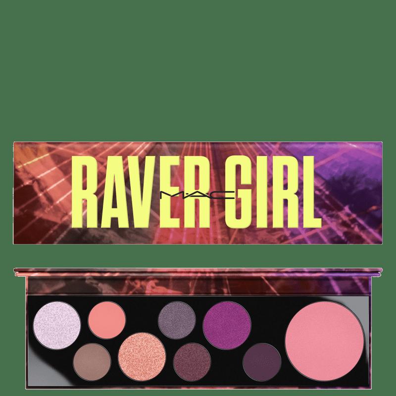 M·A·C Girls Raver Girl - Paleta de Maquiagem 35g
