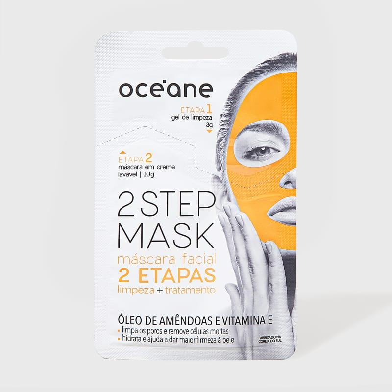 2 Step Mask - Máscara Facial Óleo de Amêndoas e Vitamina E