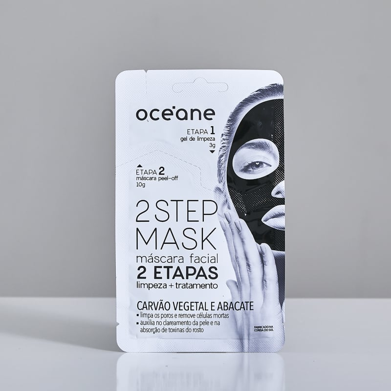 2 Step Mask - Carvão Vegetal e Abacate
