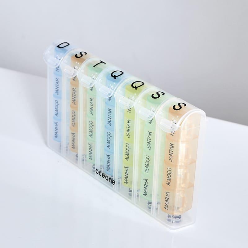 Pill Organizer Estojo - Porta Comprimidos