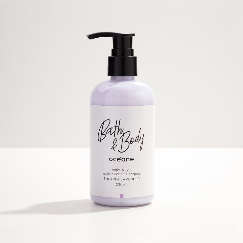 Body Lotion English Lavender 236ml - Hidratante Corporal