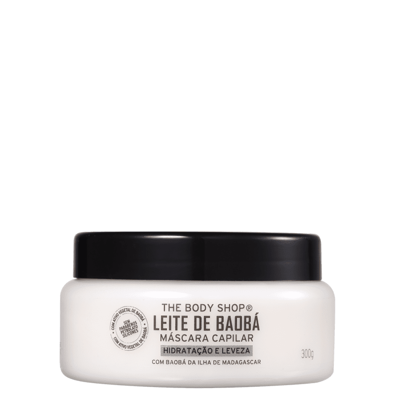 The Body Shop Leite de Baobá - Máscara Capilar 300ml