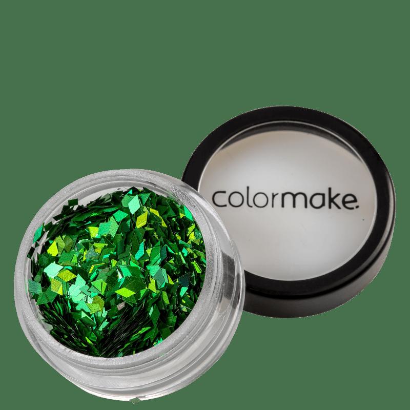 Colormake Shine Formatos Diamante Verde - Glitter 2g